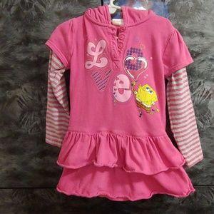 Nickelodeon. Girls dress. Size 4T.